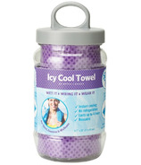 Upper Canada Icy Cool Towel Purple