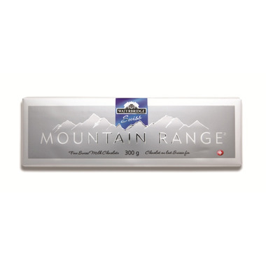 Waterbridge Swiss Mountain Range Milk Chocolate Bar