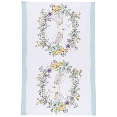Now Designs Floral Hop Print Tea Towel