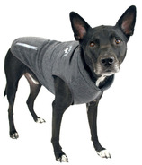 Canada Pooch Rocky Ridge Back-Zip Vest in Grey Melange Size 24