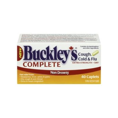 Buy Buckley S Complete Cough Cold Amp Flu Extra Strength
