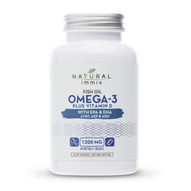 Natural Immix Fish Oil Omega 3 Plus Vitamin D