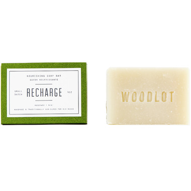 Woodlot Recharge Nourishing Soap Bar