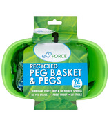 EcoForce Recycled Peg Basket & Pegs