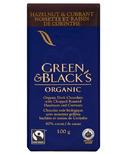 Green & Black's Organic Dark Chocolate Hazelnut & Currant Bar