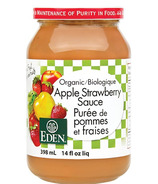 Eden Foods Organic Apple Strawberry Sauce