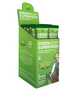 Amazing Grass Green SuperFood High Energy Single Serve Packets