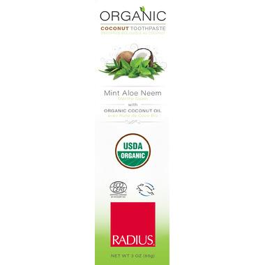 Radius Organic Coconut Toothpaste