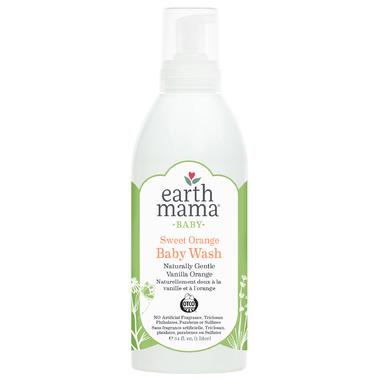 Earth Mama Organics Baby Sweet Orange Baby Wash