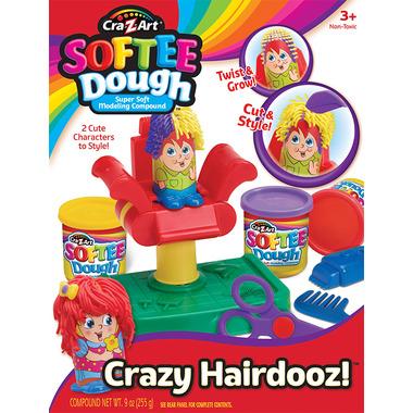 Cra-Z-Art Softee Dough Crazy Hairdooz!
