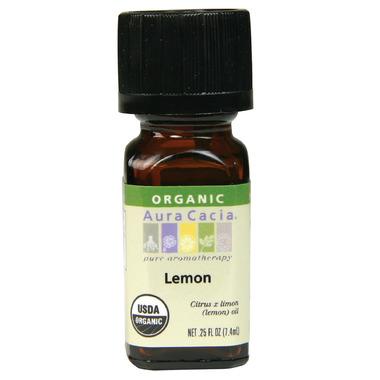 Aura Cacia Organic Lemon Essential Oil