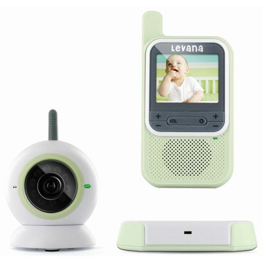 buy levana clearvu digital video baby monitor at free shipping 35. Black Bedroom Furniture Sets. Home Design Ideas