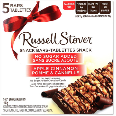 Buy russell stover no sugar added snack bars at for Food bar russell