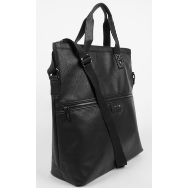 Buffalo David Bitton Tim Fold Over Tote in Black
