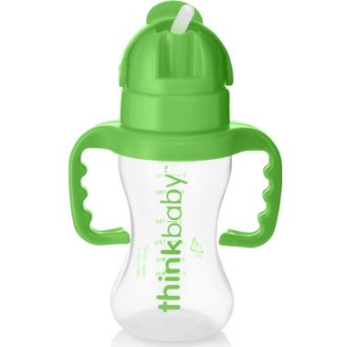 Thinkbaby Thinkster Straw Bottle Green