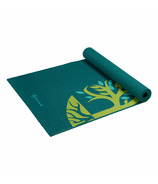 Gaiam Root to Rise Yoga Mat Green