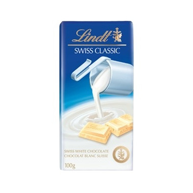 Lindt Swiss Classic White Chocolate Bar