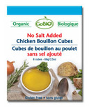 GoBIO! Organic Low Sodium Chicken Bouillon Cubes