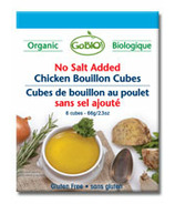 GoBIO! Organic Low Sodium Chicken Boullion Cubes