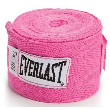 Everlast Pink Hand Wraps