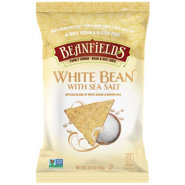 Beanfields White Bean with Sea Salt Bean and Rice Chips