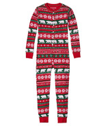 Hatley Kids Union Suit Beary Xmas