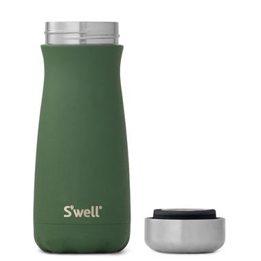 S\'well Traveler Stainless Steel Wide Mouth Bottle Jasper Green