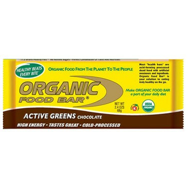 Active Greens Chocolate Organic Food Bar