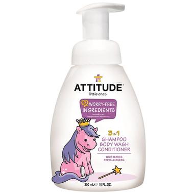 ATTITUDE Little Ones 3-In-1 Shampoo, Body Wash & Conditioner
