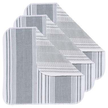 Now Designs Scrub-It London Gray Dishcloth