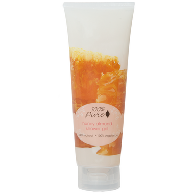 100% Pure Honey Almond Shower Gel