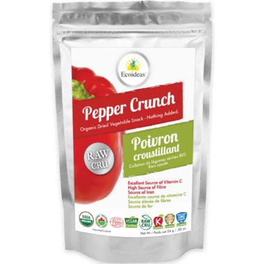 Ecoideas Organic Raw Pepper Crunch