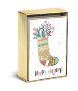 Graphique de France Holiday Signature Boxed Cards