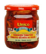 Unico Julienne Cut Sundried Tomatoes in Oil