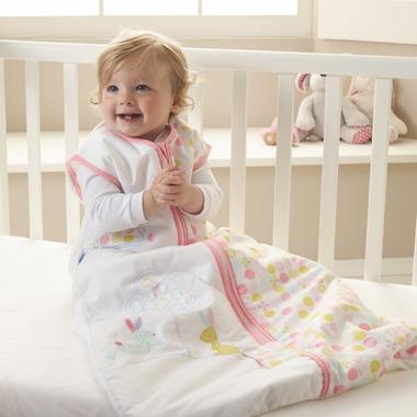 Grobag Baby Sleep Bag 1.0 Tog Blossom Bunny