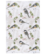 Now Designs Chickadee Print Tea Towel