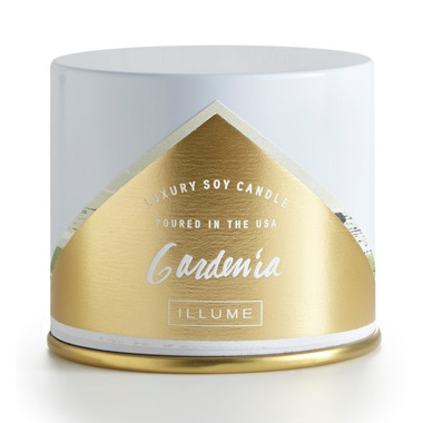 Illume Gardenia Vanity Tin Candle