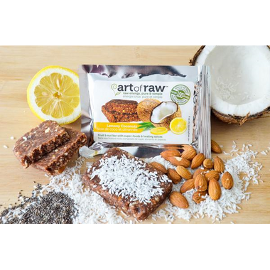 Art of Raw Lemony Coconutz Raw Bar