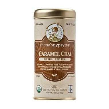 Zhena\'s Gypsy Tea Caramel Red Chai