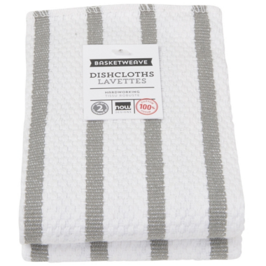 Now Designs Basketweave Dishcloth Set