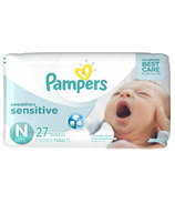 Pampers Swaddlers Sensitive Jumbo Pack