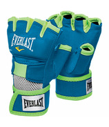 Everlast Evergel Hand Wraps Blue & Green Large