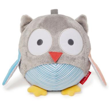 Skip Hop Treetop Friends Owl Chime Ball Grey/ Pastel