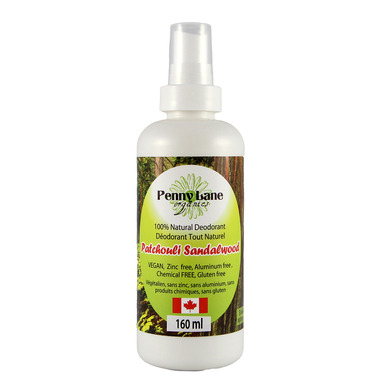 Penny Lane Organics Spray Deodorant Patchouli Sandalwood