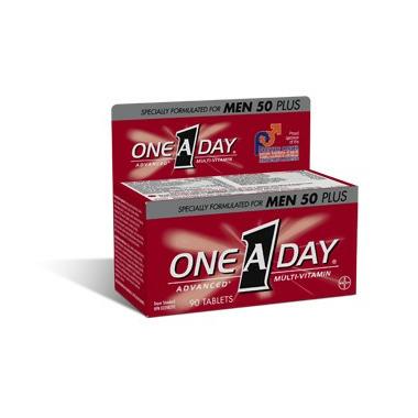 One A Day Advance Men 50+ Formula