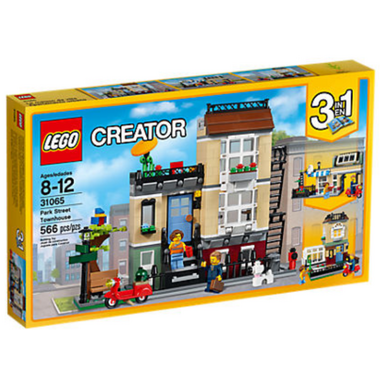 LEGO Creator Park Street Townhouse 3-in-1