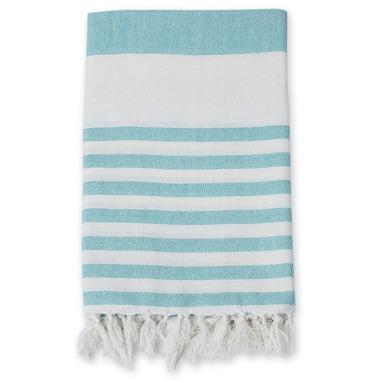 Lulujo Turkish Towel Ocean Blue