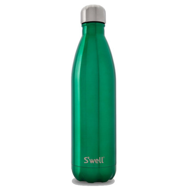 S\'well Shimmer Collection Stainless Steel Water Bottle Kelly Green