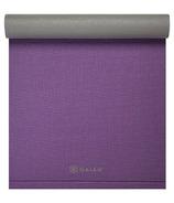 Gaiam Easy Roll Yoga Mat Grape & Grey