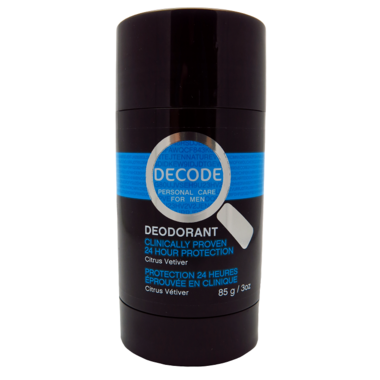 DECODE Citrus Vetiver Deodorant Stick